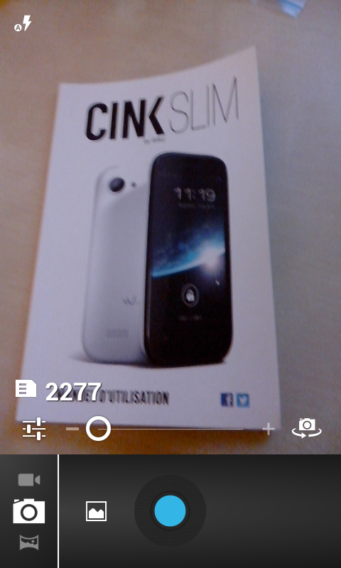 wiko-cink-slim-appareil photo