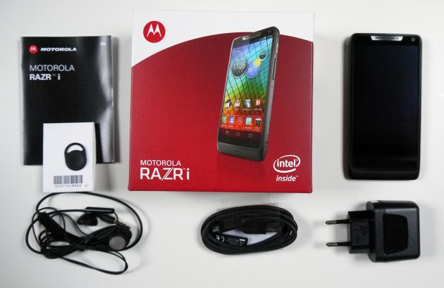 Boite - Test du Motorola RAZR i
