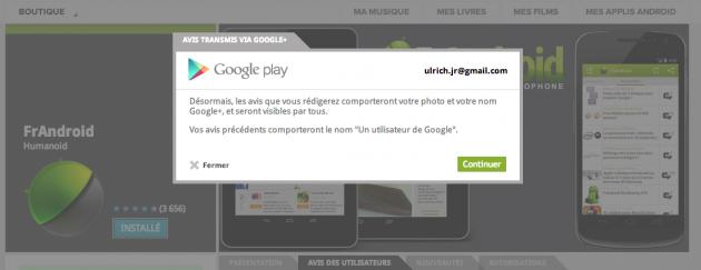 Google Play / Google+