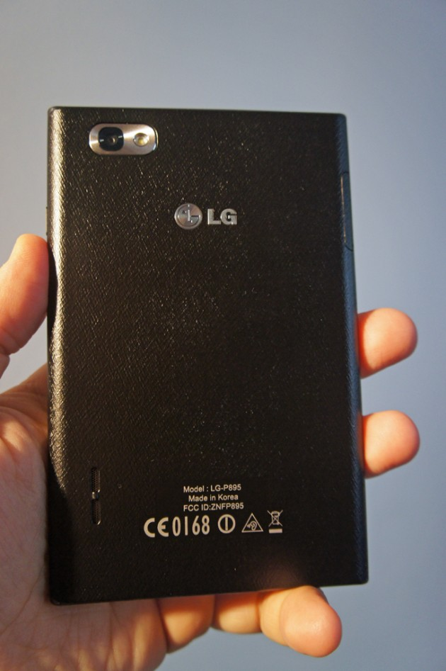 LG Optimus Vu in the Practice Test