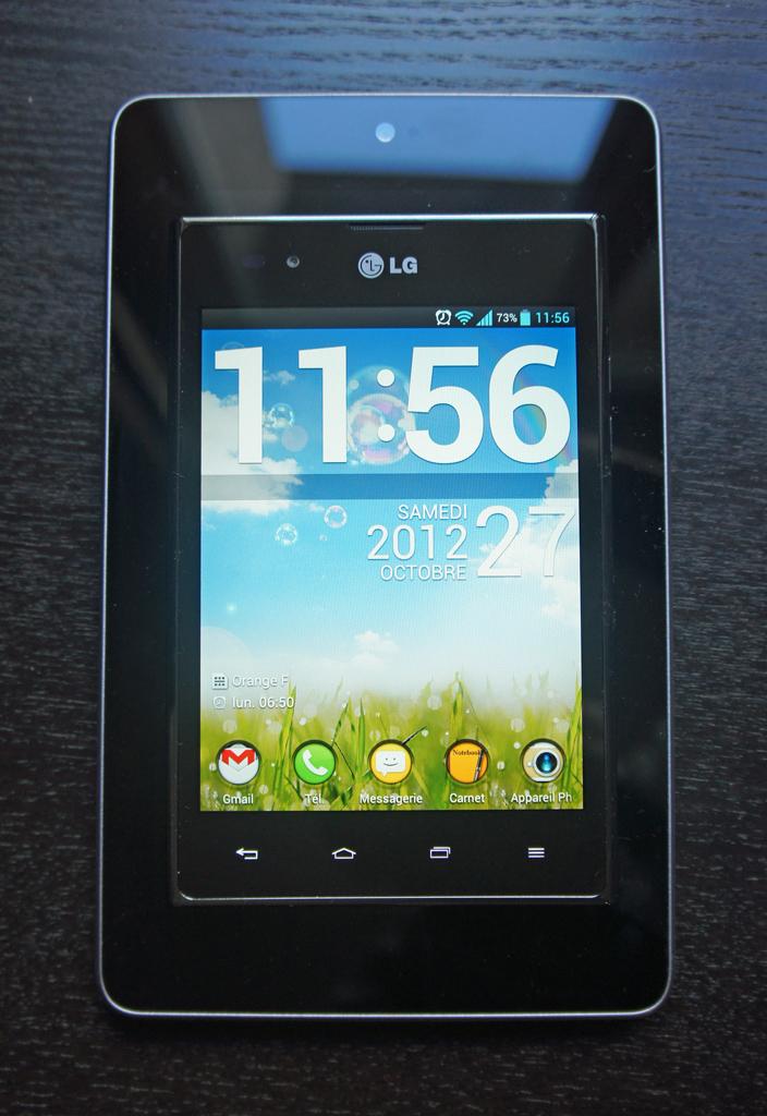 Test du LG Optimus Vu