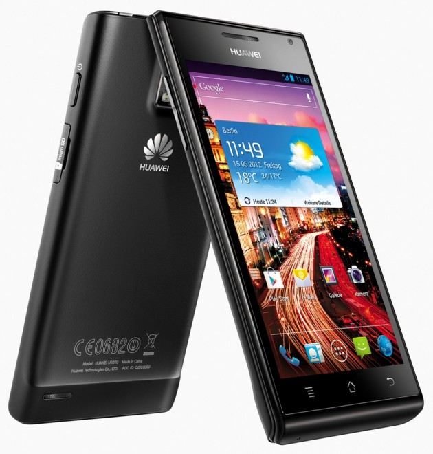 Huawei Ascend P1 TEST