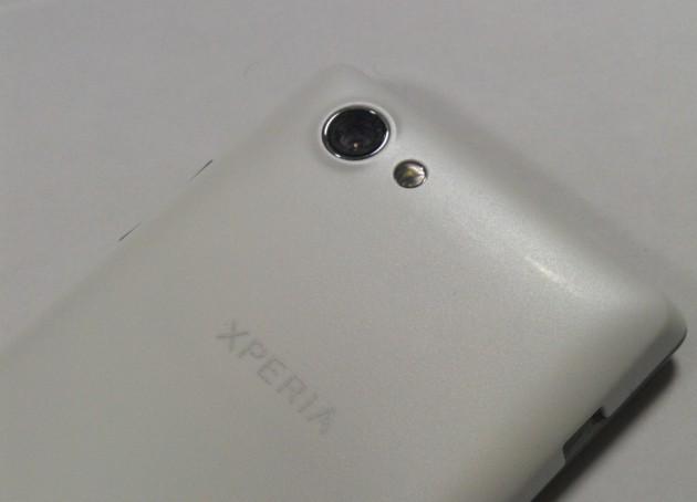 Test du Sony Xperia J - L'arrière