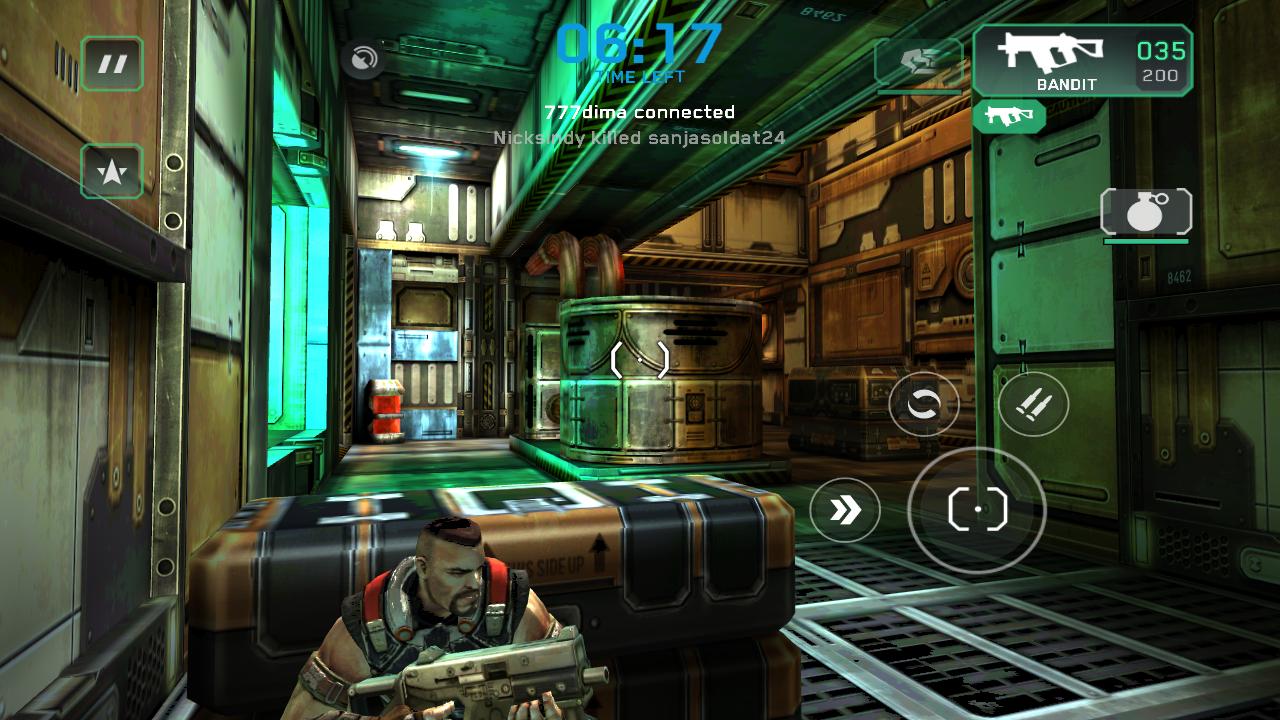 shadowgun deadzone není připojen k dohazování serveru android