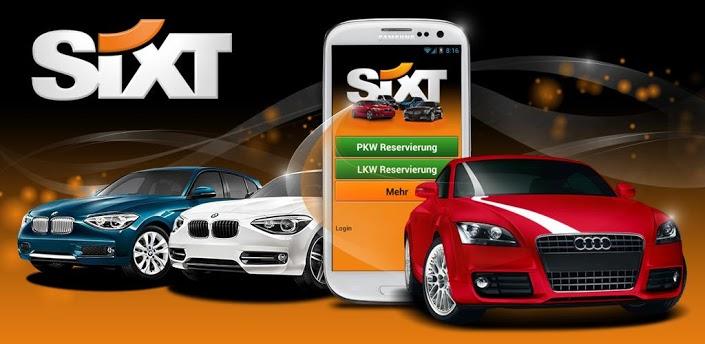 louer une voiture devient mobile avec sixt location de voiture