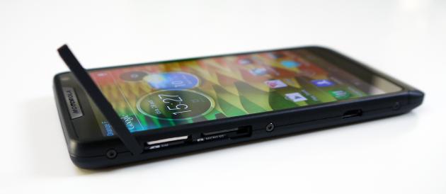 Trappe microSIM - microSD Motorola RAZR i