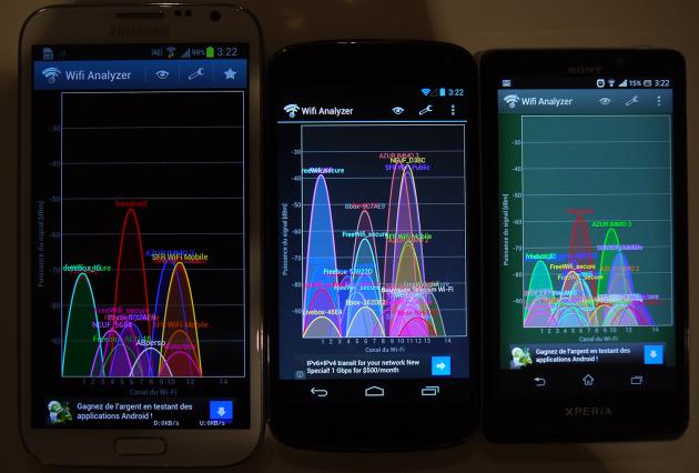 Samsung Galaxy Note 2 / LG Nexus 4 / Sony Xperia T
