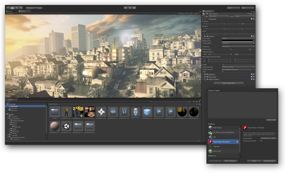 unity 3d la version b ta 4 0 est disponible en