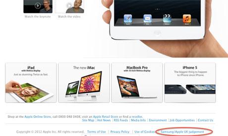 apple samsung declaration