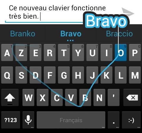 Installer Le Nouveau Clavier Jelly Bean 4 2 Android Avec Saisie