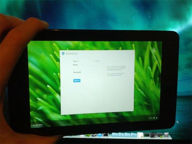 Chromium OS sur Nexus 7