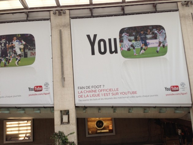 YouTube et la Ligue 1