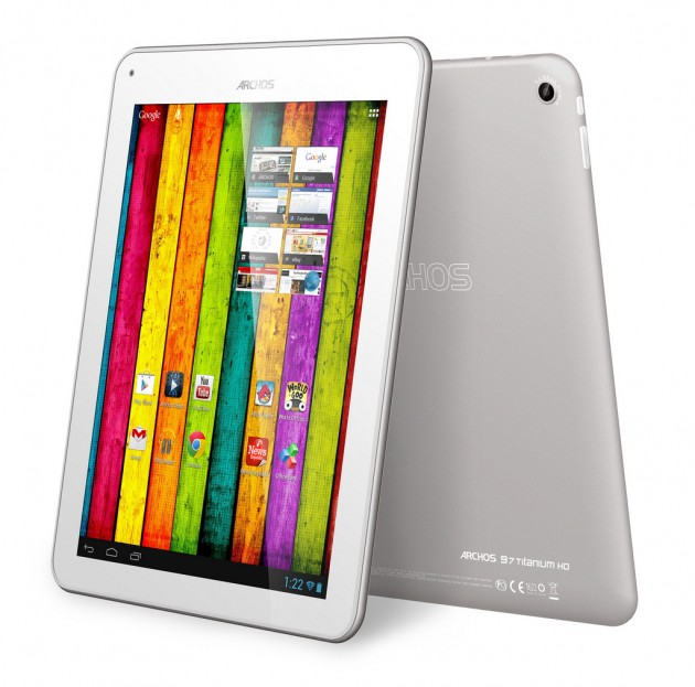 archos 97 titanium hd une tablette avec un cran retina. Black Bedroom Furniture Sets. Home Design Ideas