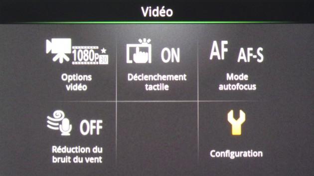 Ecran vidéo Coolpix