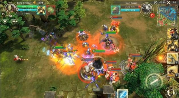 Heroes of Order & Chaos, un Dota développé par Gameloft