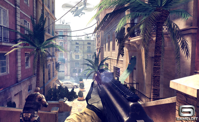 gameloft lance mordern combat 4 zero hour sur google play. Black Bedroom Furniture Sets. Home Design Ideas