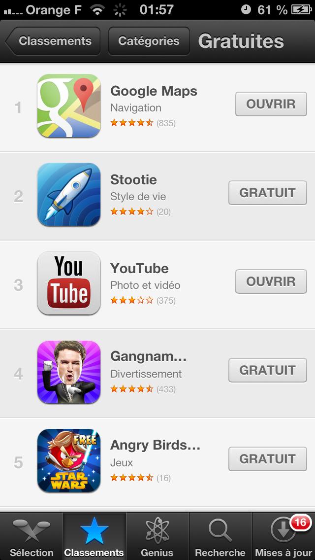 TOP AppStore iPhone
