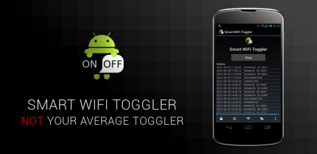 Smart wifi toggler