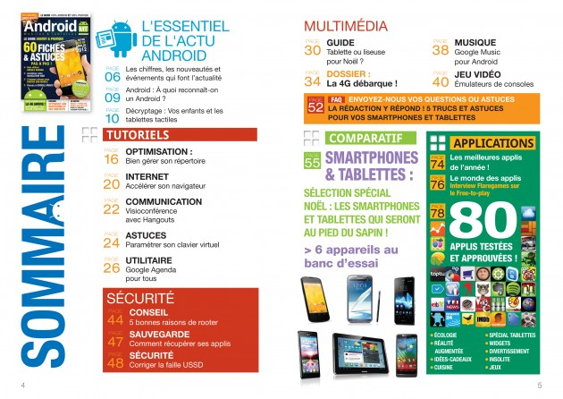 Android MT magazine numero 8 sommaire