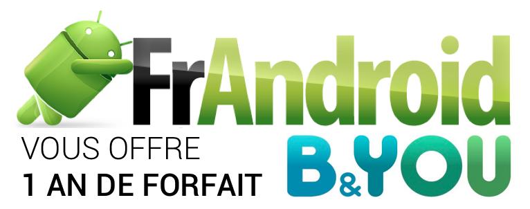 Jeu-concours FrAndroid - B&YOU