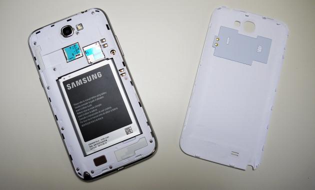 autonomie Samsung Galaxy Note 2