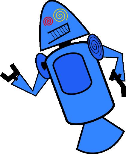 Dandroid Bleu