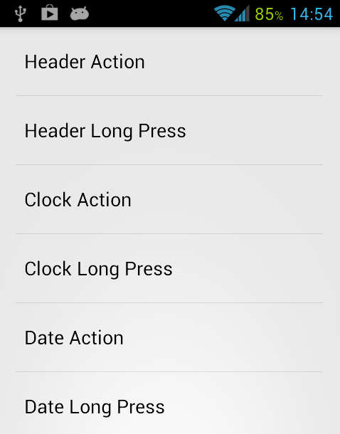 sf launcher action