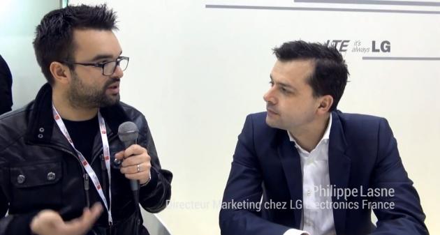 Philippe Lasne, Directeur Marketing chez LG France