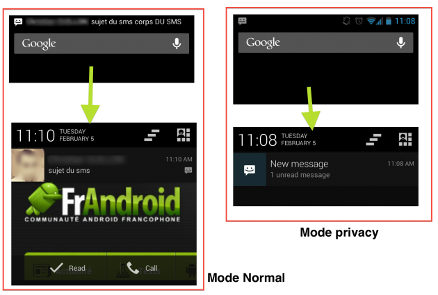 android-cyanogenmod-10.1-private-privé-message-sms-image-0
