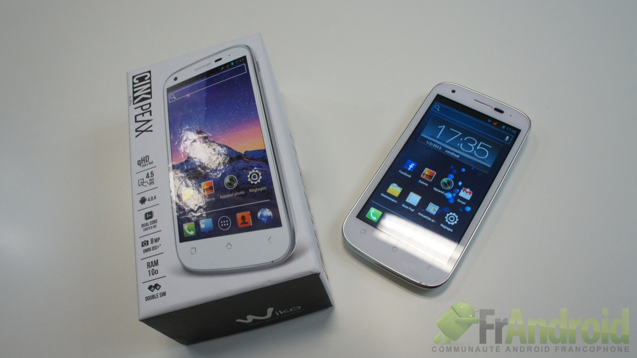 Portable wiko pas cher portable wiko sur enperdresonlapin for Ecran dalle ips pour la photo