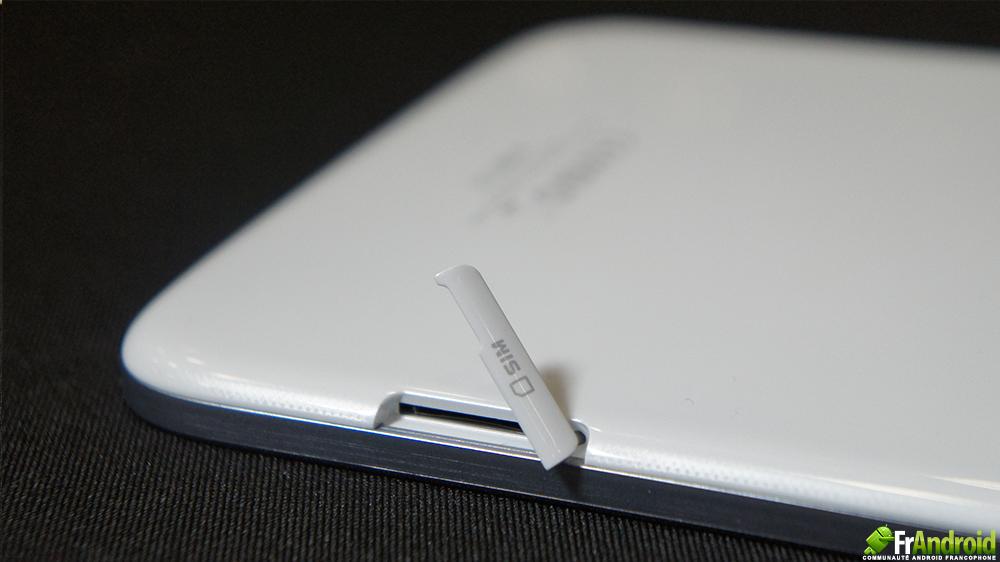tablette samsung avec carte sim intégrée Prise en main de la tablette Samsung Galaxy Note 8.0