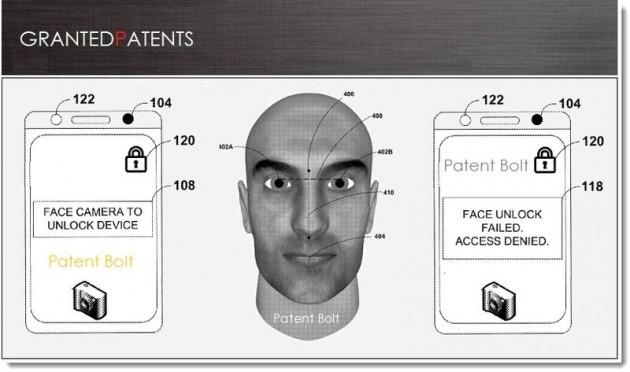 Brevet Google : reconnaissance faciale utilisée sous Android