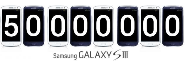 50 millions de Galaxy S3