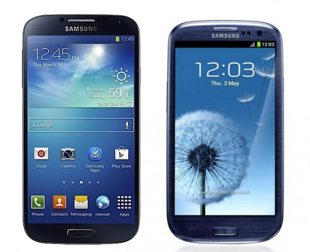 Galaxy-S3 Galaxy S4
