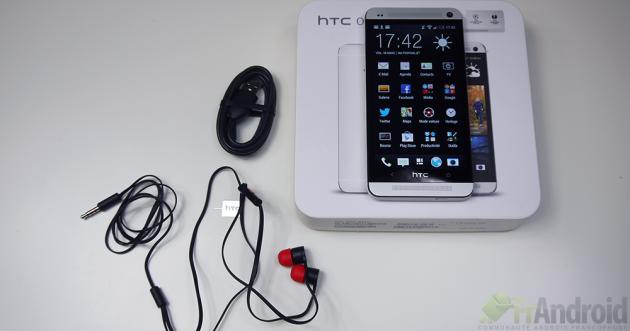 Test HTC-One-Boite