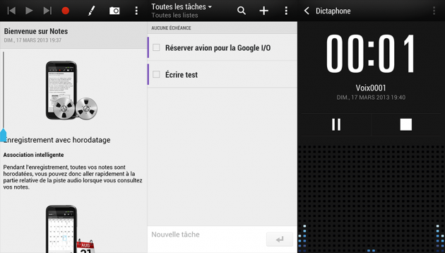 HTC-One-Notes-Remarques-Dictaphone