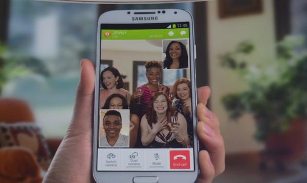 Samsung Galaxy S4 - Dual Caméra