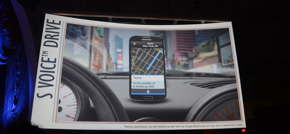 Samsung Galaxy S4 - S Voice Drive