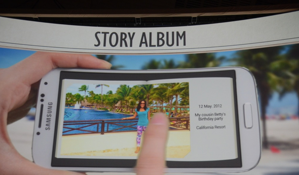 Samsung Galaxy S4 - Story Album