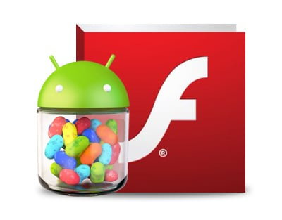 android 4.2.2 jelly bean adobe flash player