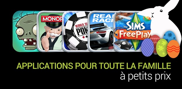android google play pâques applications jeux 1