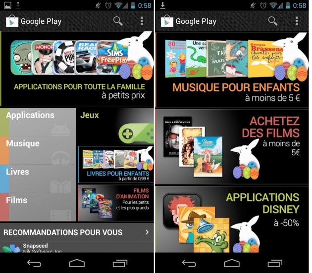 android google play store fete de paques images 0