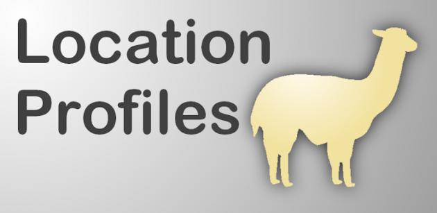 llama gestion de profils en fonction de la localisation