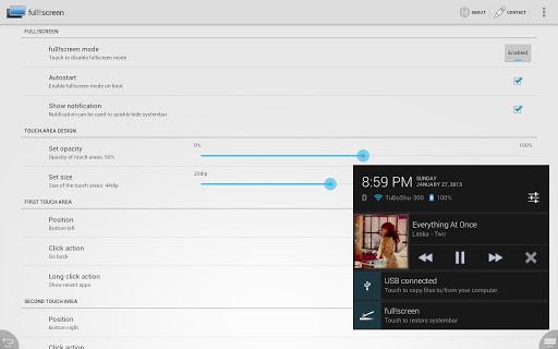 Root Full Screen Activez Le Plein Ecran Dans Toutes Les Applications