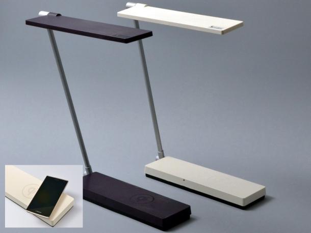 Oui oui ! Une lampe compatible Qi.