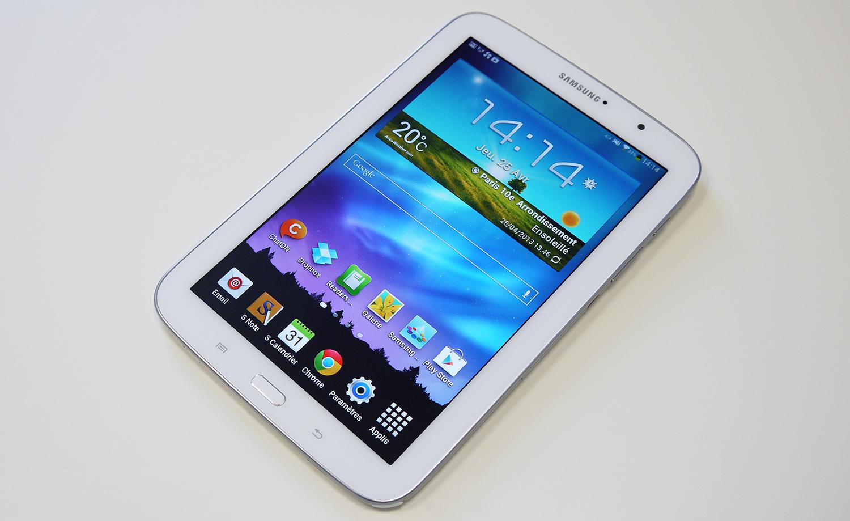 Test de la Samsung Galaxy Note 8 0Samsung Galaxy Note 8