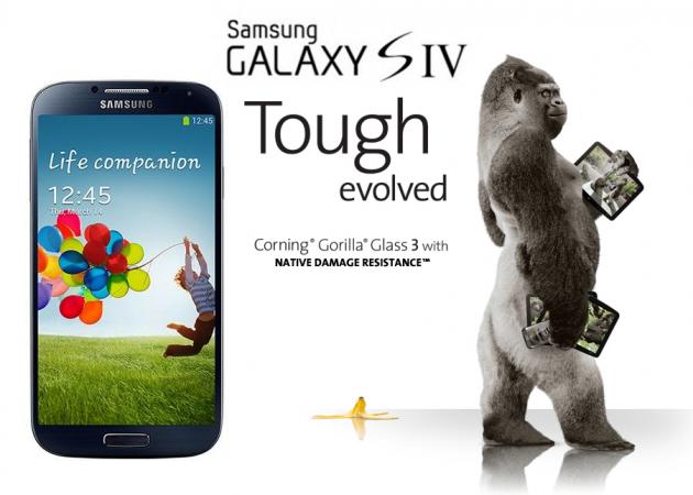 Samsung Galaxy S4 Gorilla Glass 3