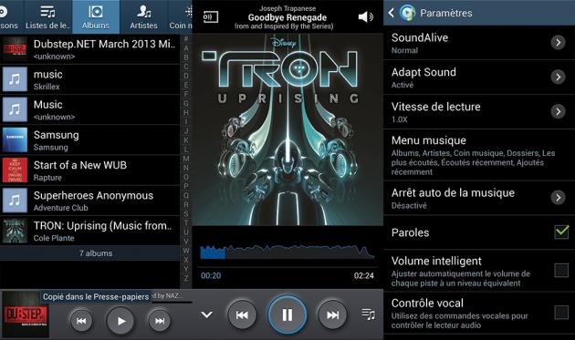 Samsung-Galaxy-S4-Musique