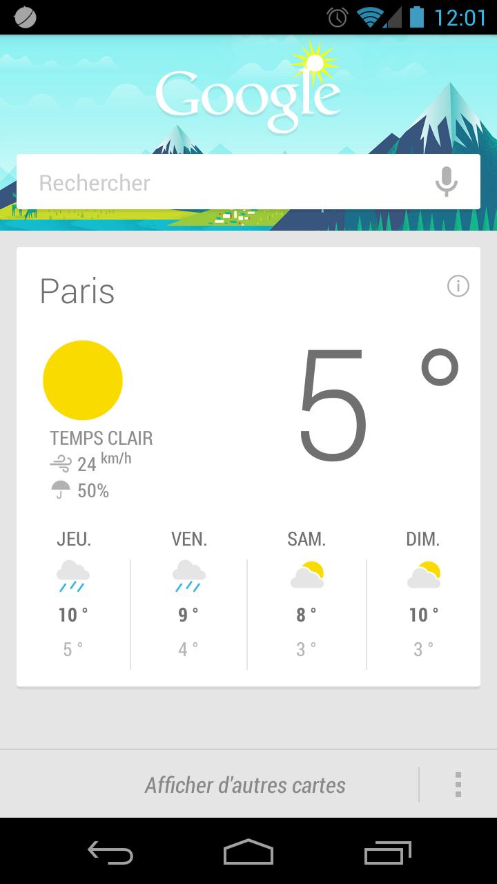 Google Now, une meilleure réactivité dans les recherches et des réponses vocales en français