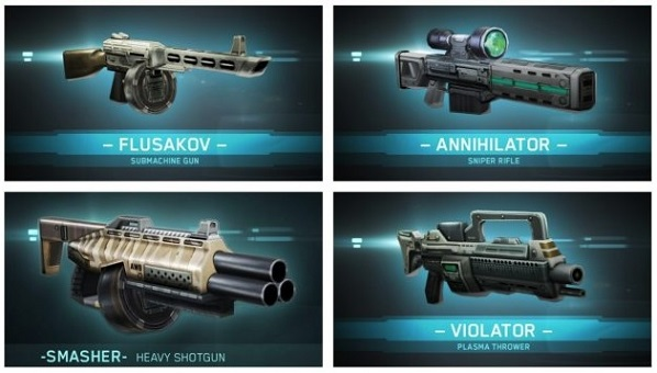 Shadowgun-DeadZone-2.0-Weapons